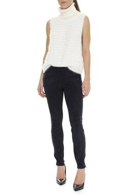 Calça Skinny Suede Bolso Frontal - DG15820