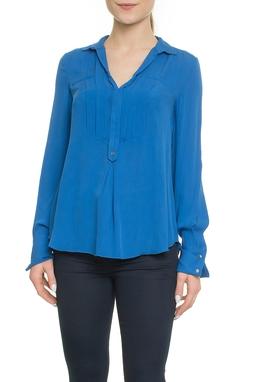 Camisa Azul Seda - DG18058