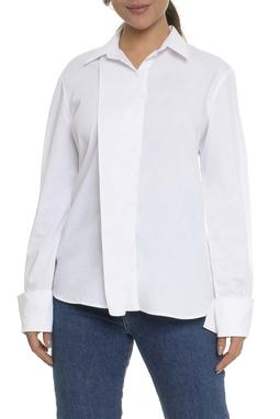 Camisa Branca Tricoline - DG17046