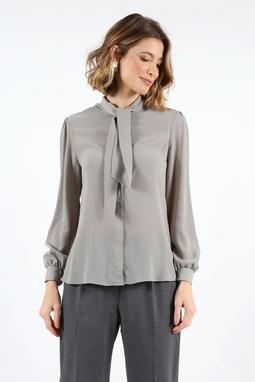 Camisa Laço Removivel Cupro Cinza