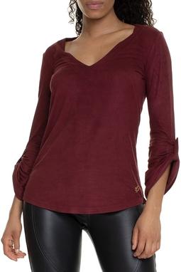 Camisa Marsala Suede - DG15045