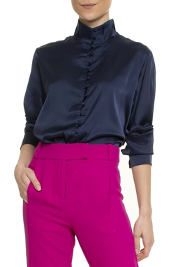 Camisa Mia ML cetim - DG16981