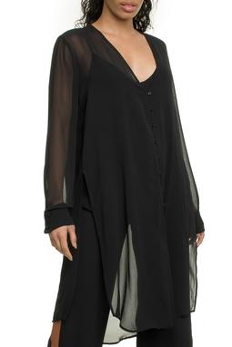 Camisa Ml Longa Transparente - I18C1B509