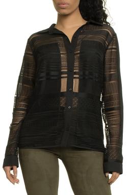 Camisa Ml Renda Geometrica - I17C1B503