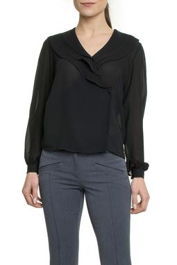 Camisa Preta Cachecour - DG17834