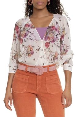 Camisa Sem Botão Estampada - DG15260