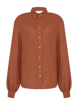 Camisa Sichuan - Caramelo  USTL