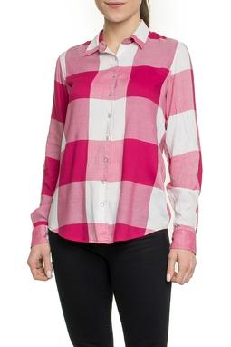 Camisa Xadrez Pink - DG17857