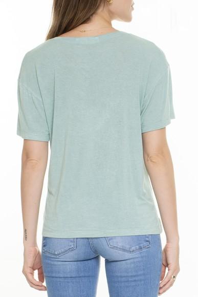 Camiseta Básica Verde Menta - DG15344 Missinclof