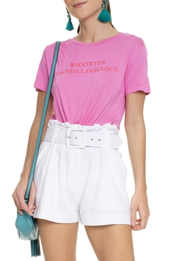 Camiseta Com Nó Frase - DG15726