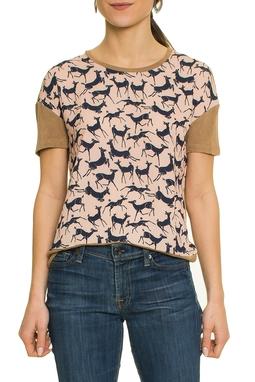 Camiseta Estampa Alce - DG17385