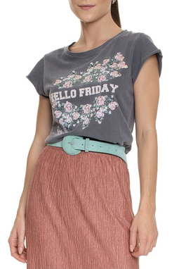 Camiseta Estonada Hello Friday - DG15338