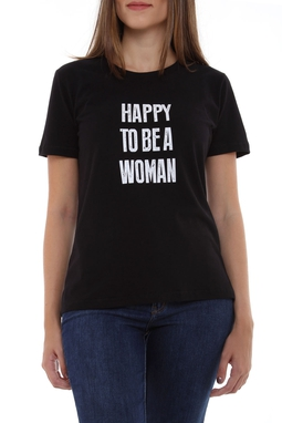 Camiseta Happy To Be A Woman