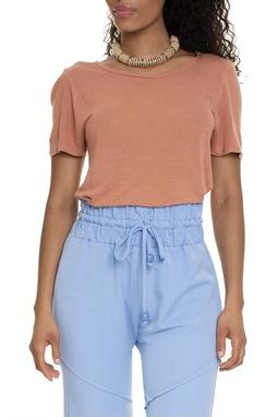 Camiseta Longa Caramelo - DG15340