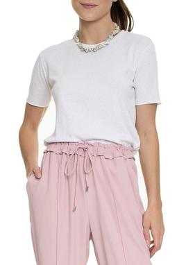Camiseta Off White Algodão Sustentável - DG15374