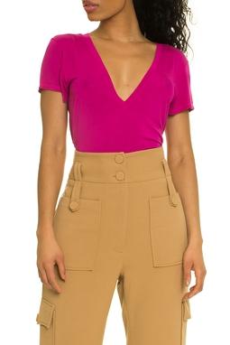 Camiseta T-shirt Vic Pink - DG17405