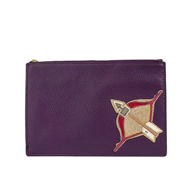 Carteira Roxa Símbolo Sagitário - DG15538 Diane von Furstenberg