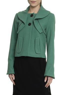 Casaco Curto Verde - DG17788