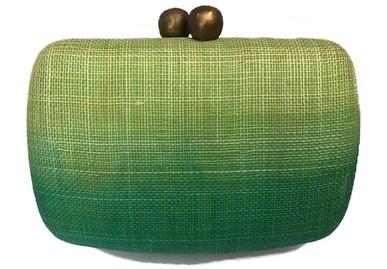 Clutch Araci Green Serpui