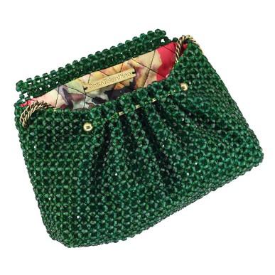 Clutch Mari Verde Rosa Tolentino