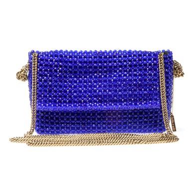 Clutch Paula Azul Rosa Tolentino