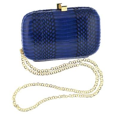 Clutch Piton Azul Serpui