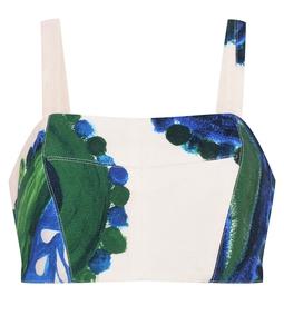 Conjunto Jaguaripe - Paisley Azul e Verde USTL