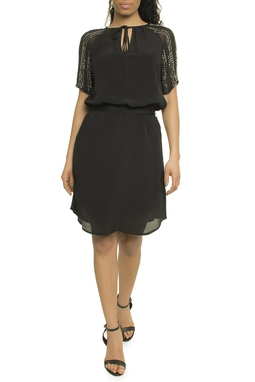 Crepe Georgette Embroidery Dress Mc - 50N1902