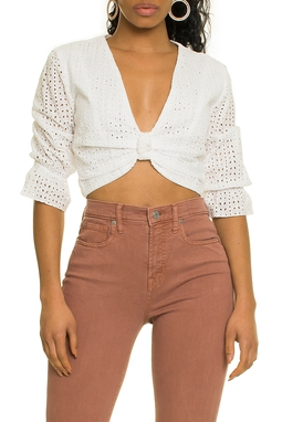 Cropped Laise Off White - DG17397