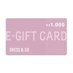E-Gift Card Dress & Go - R$1.000