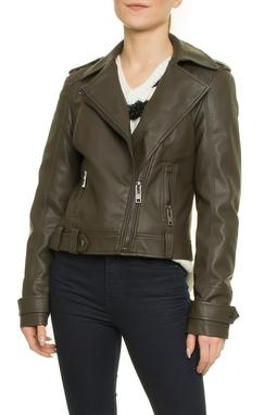 Jacket Leather Denim Perfecto - 52I385