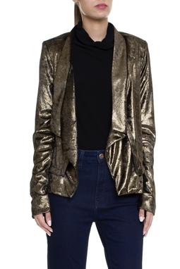 Jaqueta Lamê Dourada - DG15466