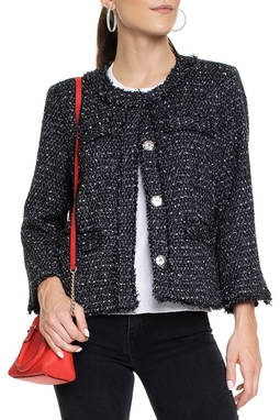 Jaqueta Tweed P&B - DG15529