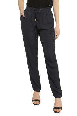 Kneaded Silk Like Pant - 50A2657