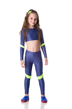 Legging Regatta Azul Kids