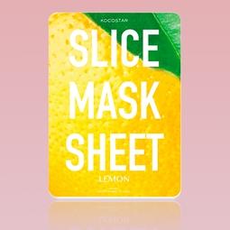 Máscara Kocostar Facial de Limão em fatias