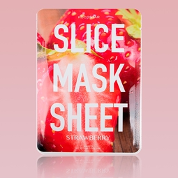 Máscara Kocostar Facial de Morango em fatias