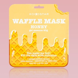 Máscara Kocostar Waffle de Mel