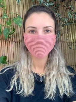 Máscara Tricot Rose