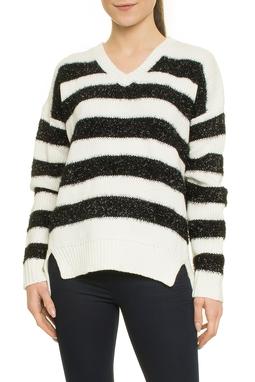 Mixed Striped Furry Lurex Dec V Ml - 50H279