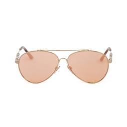 Óculos De Sol Aviador Espelhado - DG15709