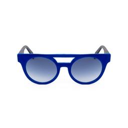 Óculos Escuros Azul Veludo