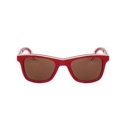 Óculos Escuro Quadrado Vermelho
