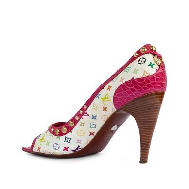 Peep Toe Monograma Colorido LV - DG15516 Louis Vuitton