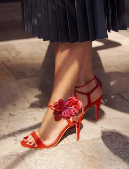 Poppy Sandal Vermelha