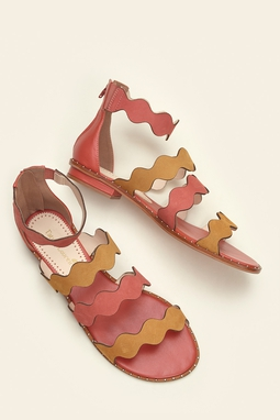 Rasteira Multi Waves Coral