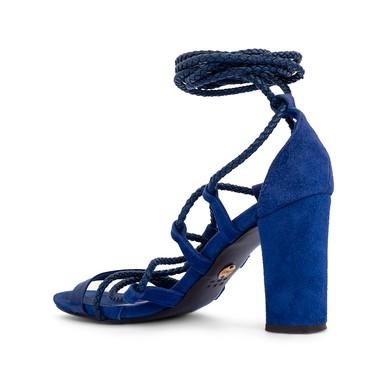 Sandália Amarração Azul Royal - DG15226 NK Store