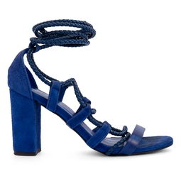 Sandália Amarração Azul Royal - DG15226