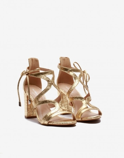 Sandália Fancy Dourada