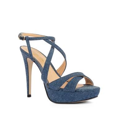 Sandália Jeans - DG15410 Luiza Barcelos